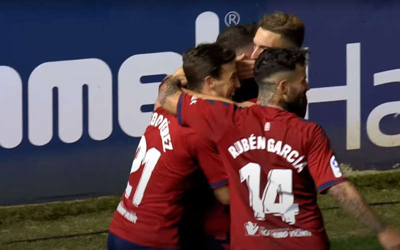 Atletico Madrid - Osasuna broadcast